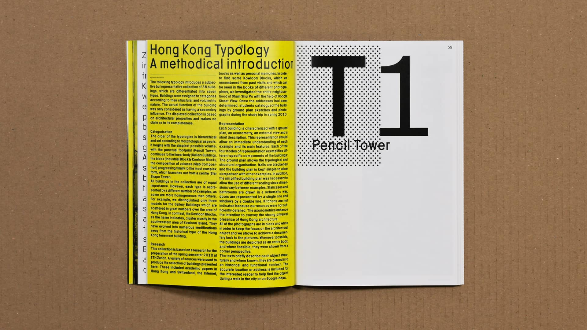 Hong Kong Typology An Architectural Research On Hong Kong Building Types Index Christ Gantenbein